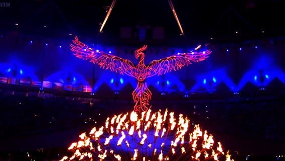 Opening ceremony of 2012 Olympics
