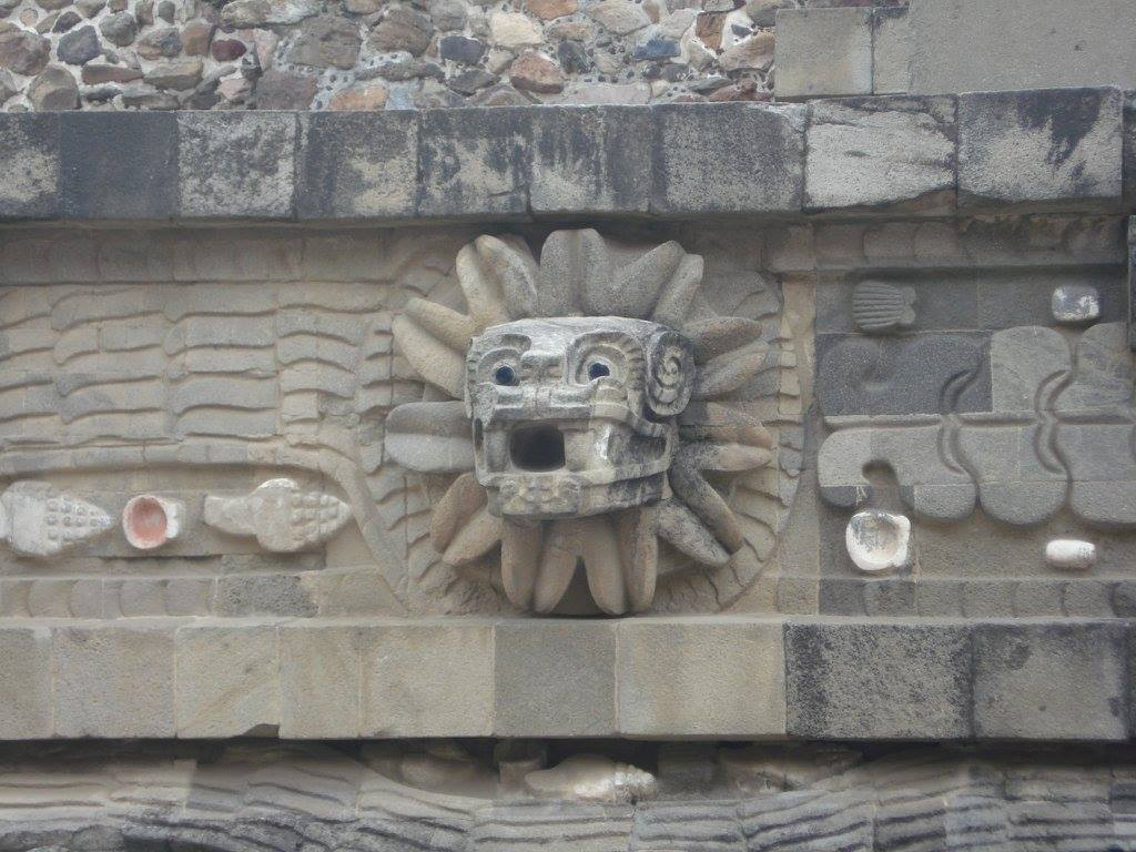 Feathered Serpent. The ancient symbol of enlightenment