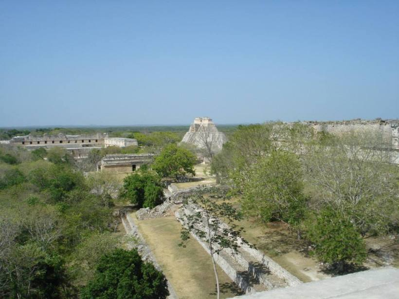 View from the temple.