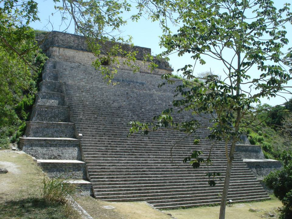 The Great Temple of Uxmal.
